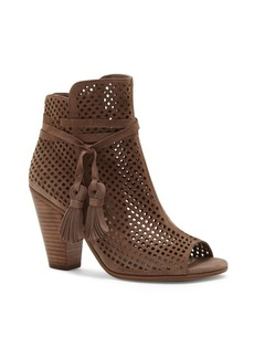 Vince Camuto Leather Peep Toe Bootie