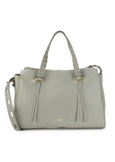 Vince Camuto Leather Satchel