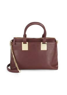 Vince Camuto Leather Zipped Satchel