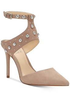 Vince Camuto Ledana Studded Harness Pumps Women's Shoes