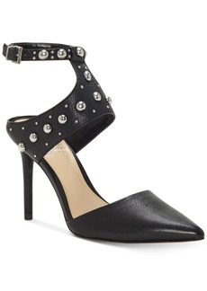 Vince Camuto Ledana Studded Harness Pumps Women's Shoes