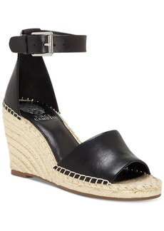 b08476354d9 SALE! Vince Camuto Vince Camuto Leddy Leather Espadrille Wedge Sandals