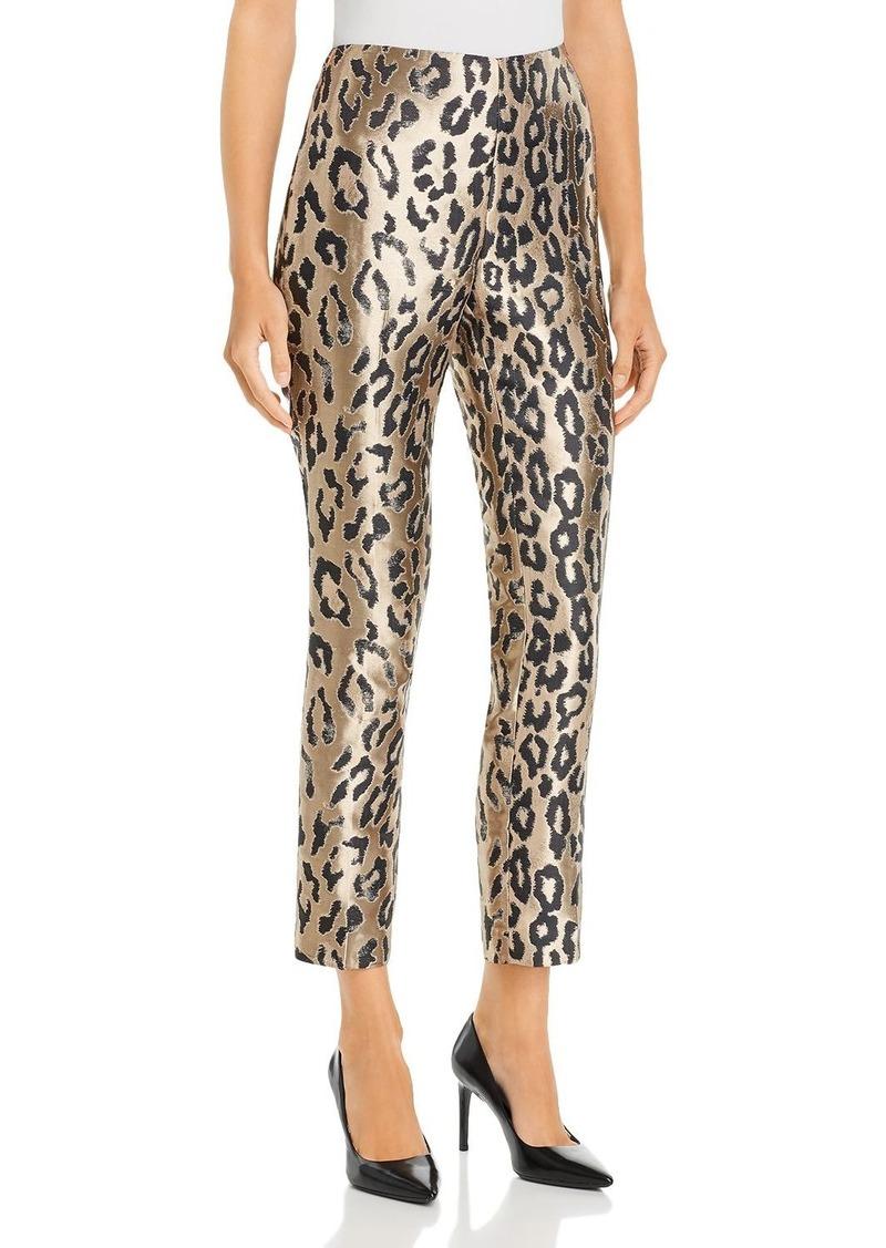 VINCE CAMUTO Leopard Jacquard Pants