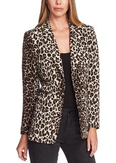 Vince Camuto Leopard Print Blazer