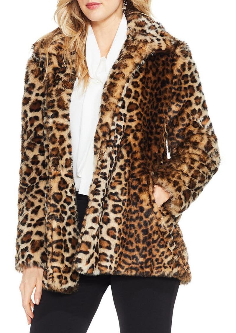 c5fdcfcbc Leopard Print Faux Fur Jacket