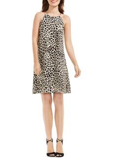 Vince Camuto Leopard Print Shift Dress