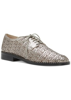 Vince Camuto Lesta Perforated Lace-Up Oxfords Women's Shoes