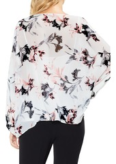 Vince Camuto Lily Melody Blosuson Sleeve Top
