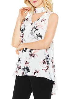 Vince Camuto Lily Melody Choker Neck Blouse