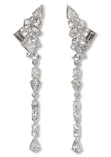 Vince Camuto Linear Crystal Earrings