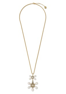 Vince Camuto Long Double Drop Pendant Necklace
