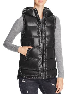 VINCE CAMUTO Long Down Vest