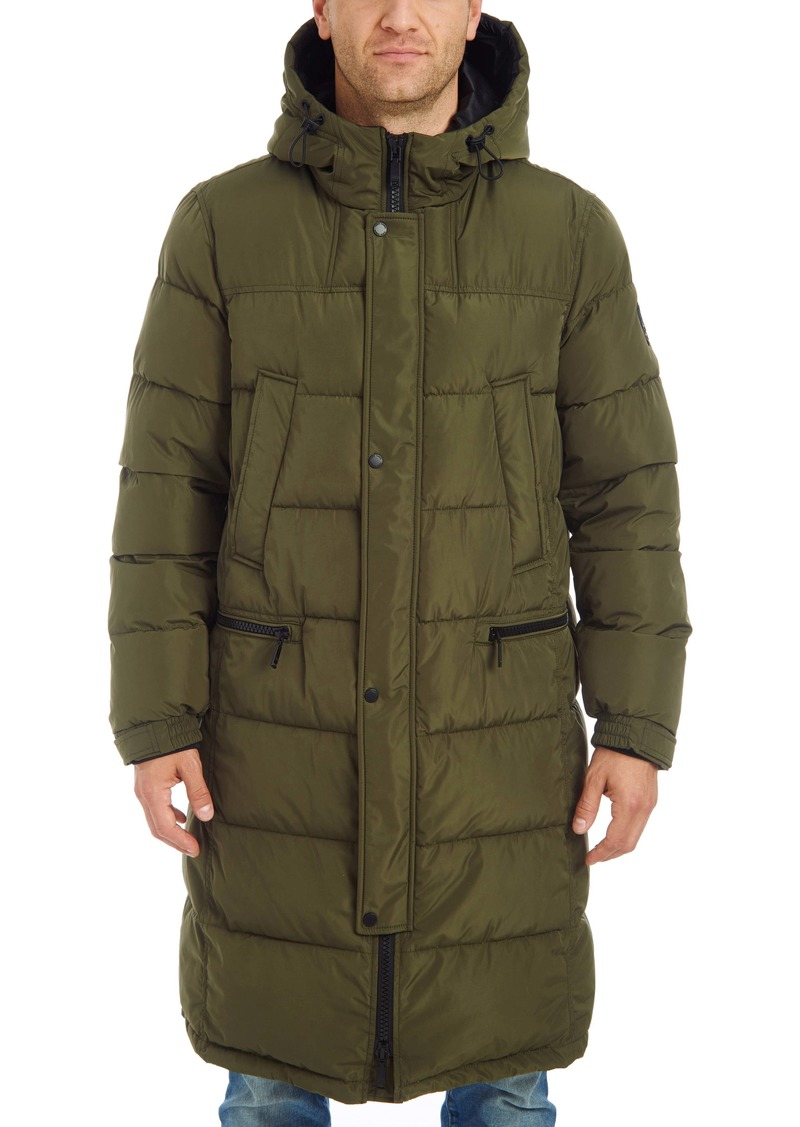Vince Camuto Long Hooded Parka