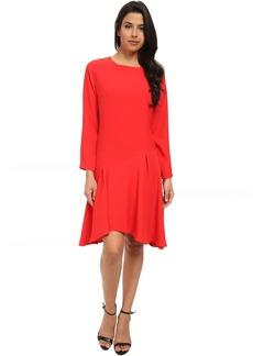 Vince Camuto Long Sleeve Dress w/ Asymmetrical