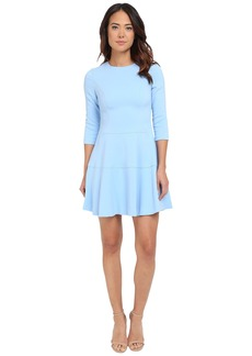 Vince Camuto Long Sleeve Drop Waist Fit and Flare