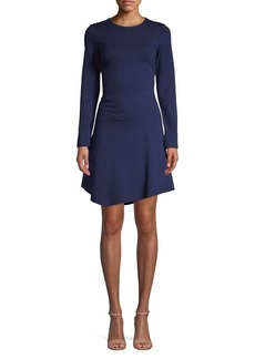 Vince Camuto Long-Sleeve Fit-&-Flare Dress