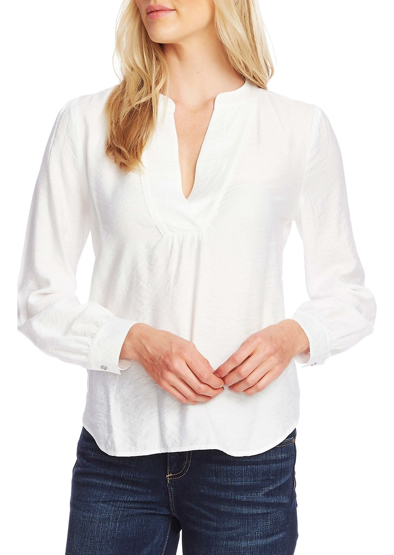 Vince Camuto Long Sleeve Rumple Top