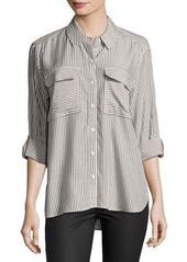 Vince Camuto Long-Sleeve Stripe Button-Down Shirt