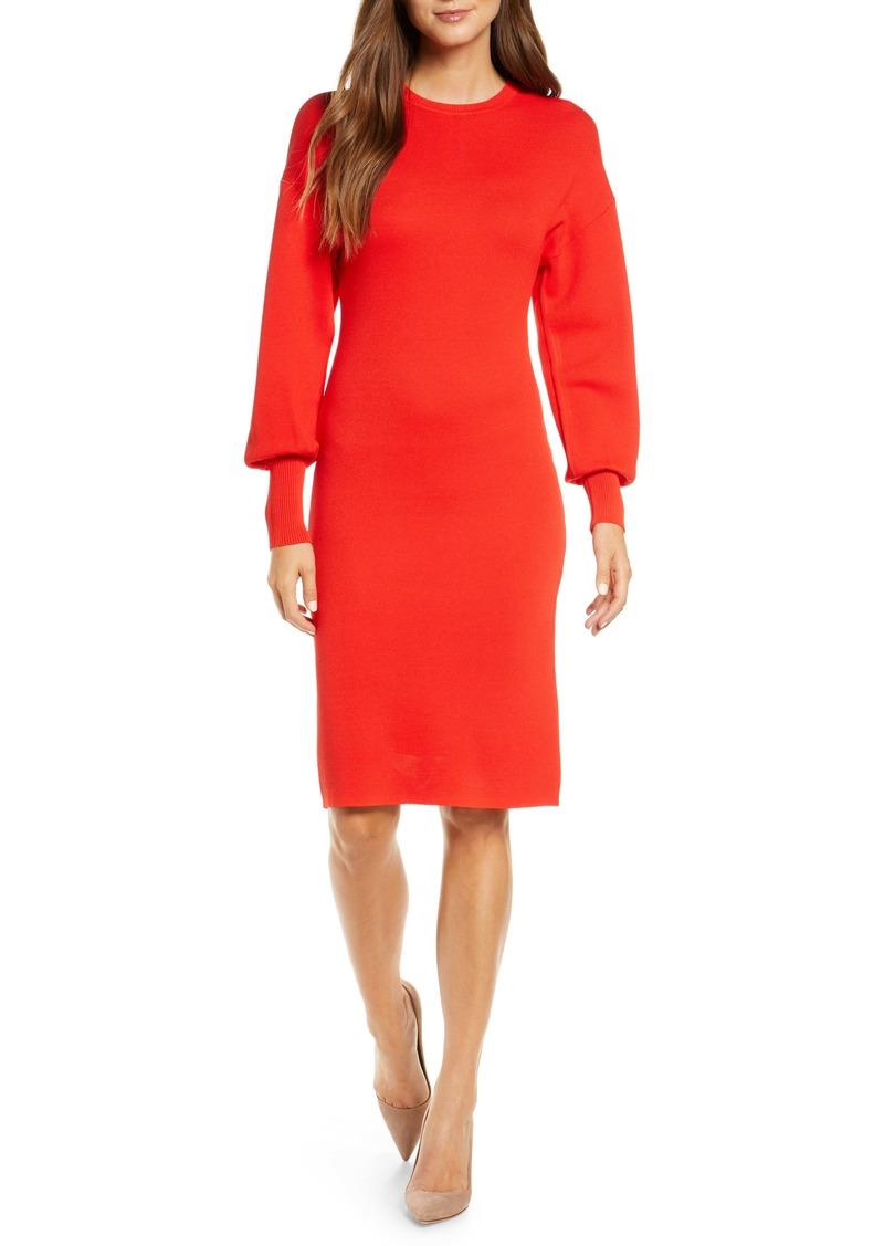 Vince Camuto Long Sleeve Sweater Dress
