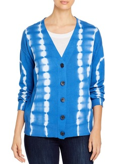 VINCE CAMUTO Long-Sleeve Tie-Dyed Cardigan