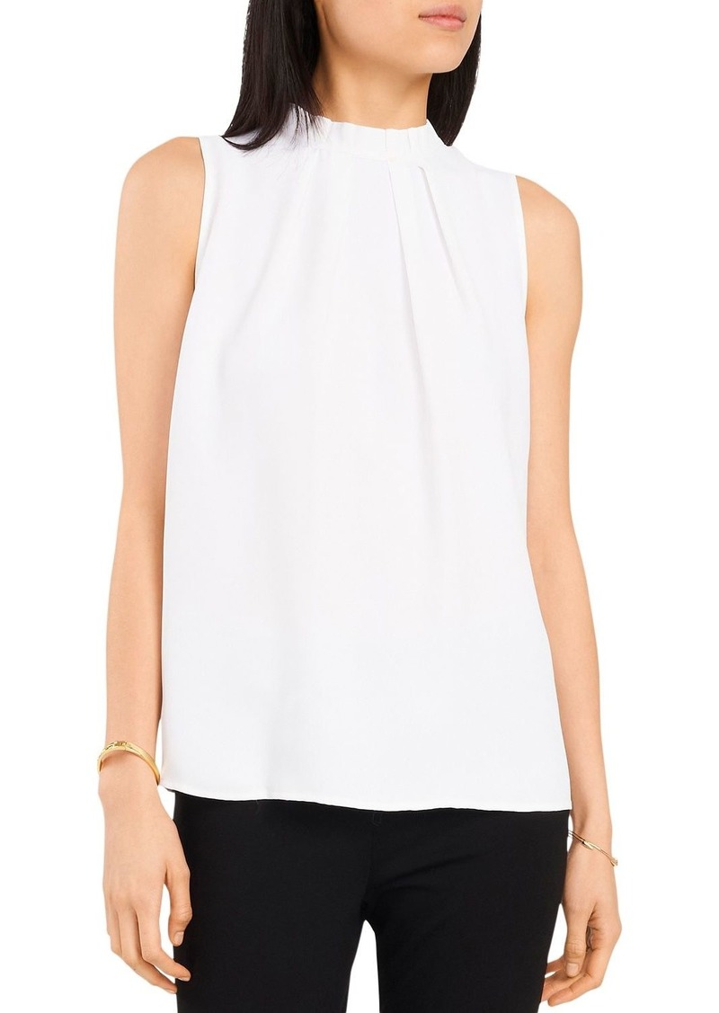 VINCE CAMUTO Luxe Woven Tank
