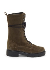 Vince Camuto Magjen Leather Combat Boot (Women)