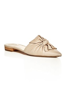 VINCE CAMUTO Marketa Knot Pointed Toe Mules