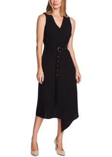 Vince Camuto Matte Crepe Sleeveless Dress