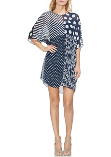 Vince Camuto Maze Patchwork Shift Dress