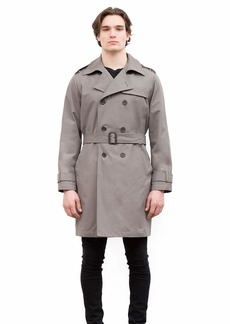 Vince Camuto Men's Belted Trench Coat  XXL