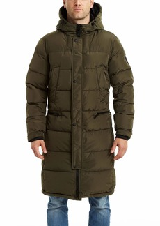 Vince Camuto Men's Long Insulated Warm Winter Coat Parka