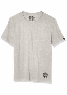 Vince Camuto Men's Sueded Jersey V Neck T-Shirt