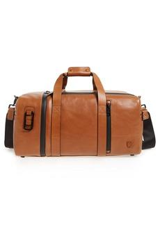 Vince Camuto 'Mestr' Leather & Suede Duffel Bag