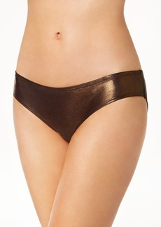 Vince Camuto Metallic Cheeky Hipster Bikini Bottoms Women's Swimsuit