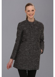 Vince Camuto Metallic Tweed Topper