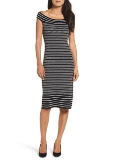 Vince Camuto Midi Sweater Dress