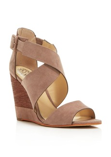 VINCE CAMUTO Milena Strappy Wedge Sandals