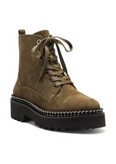 Vince Camuto Mindinta Chain Trim Combat Boot (Women)