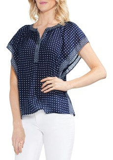 Vince Camuto Mirror Foulard Top