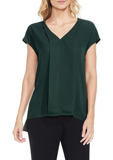 Vince Camuto Mixed Media Blouse