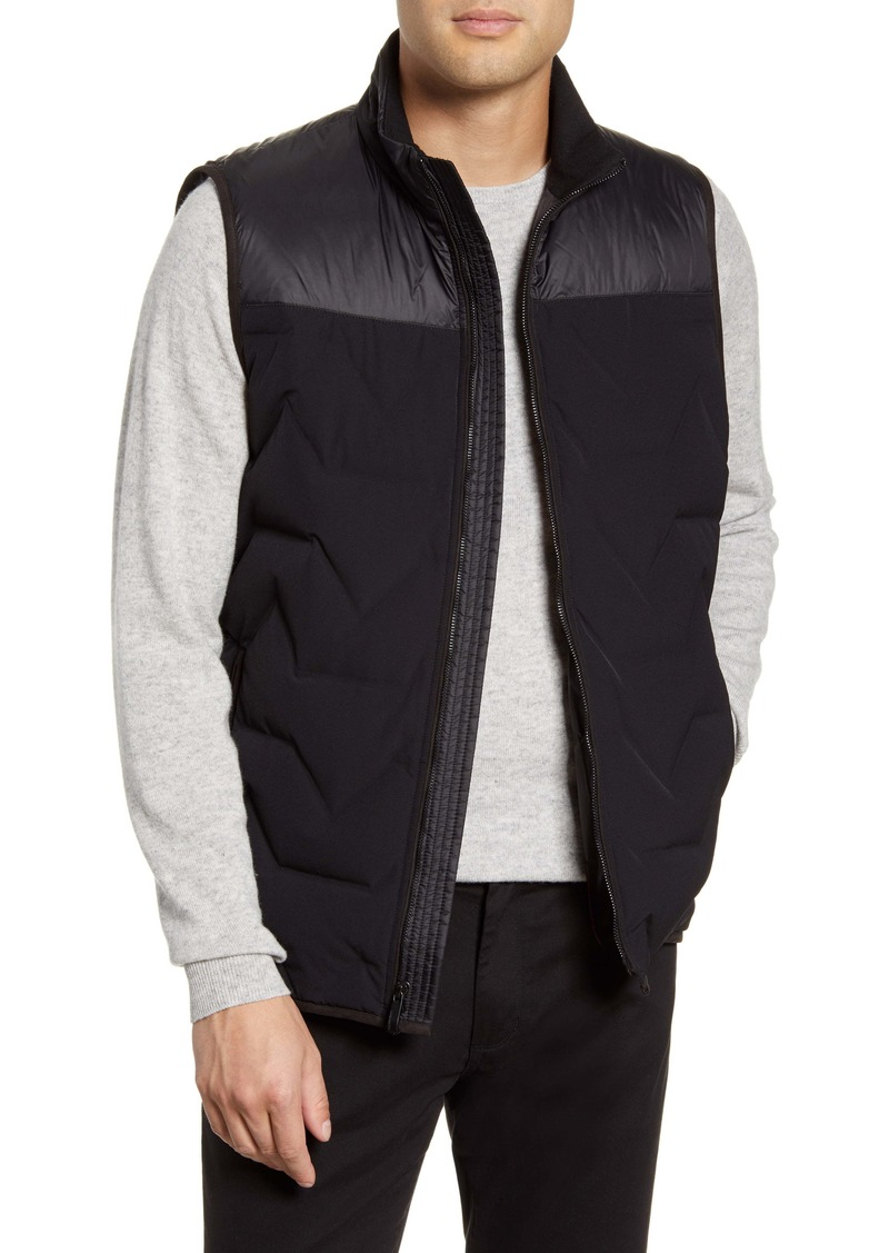 Vince Camuto Mixed Media Down Vest