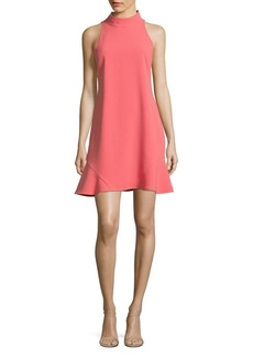 Vince Camuto Mockneck Sheath Dress