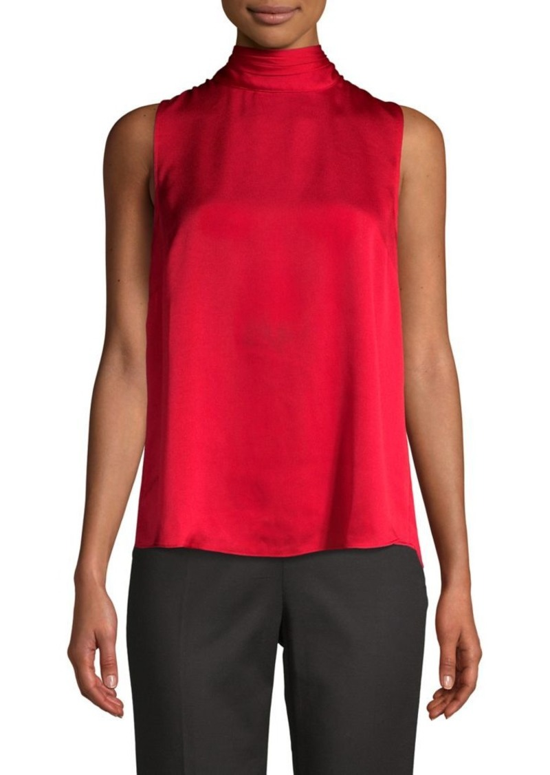 Vince Camuto Mockneck Sleeveless Top