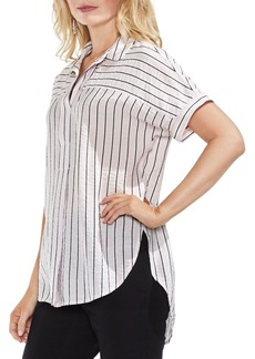 Vince Camuto Modern Canopy Striped Blouse
