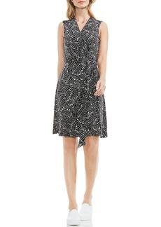 Vince Camuto Modern Mosaic Wrap Dress