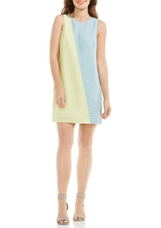 Vince Camuto Modern Slant Colorblock Shift Dress