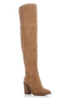 VINCE CAMUTO Morra Whipstitch Over The Knee Boots