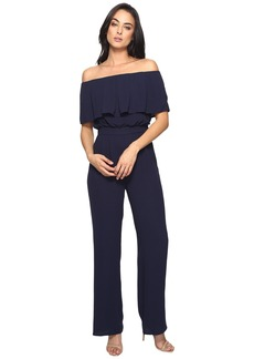 Vince Camuto Moss Crepe Off the Shoulder Jumpsuit