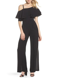 Vince Camuto Moss One-Shoulder Jumpsuit