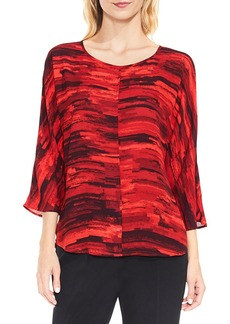 Vince Camuto Muses Print Dolman Sleeve Blouse